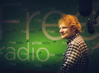 Ed Sheeran at Free Radio