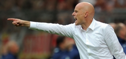 New Wolves boss Stale Solbakken on the touchline whilst in charge of Cologne.