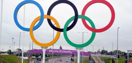 Coventry Olympic Rings
