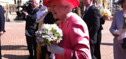 The Queen in Victoria Square