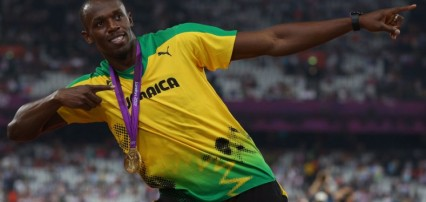 Usain Bolt thanked Birmingham for helping him win Olympic gold