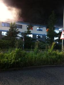 WM Ambulance Fire Picture