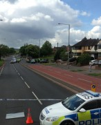 Wolverhampton Road Crash