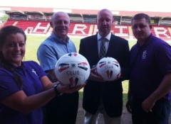 harriers charity game