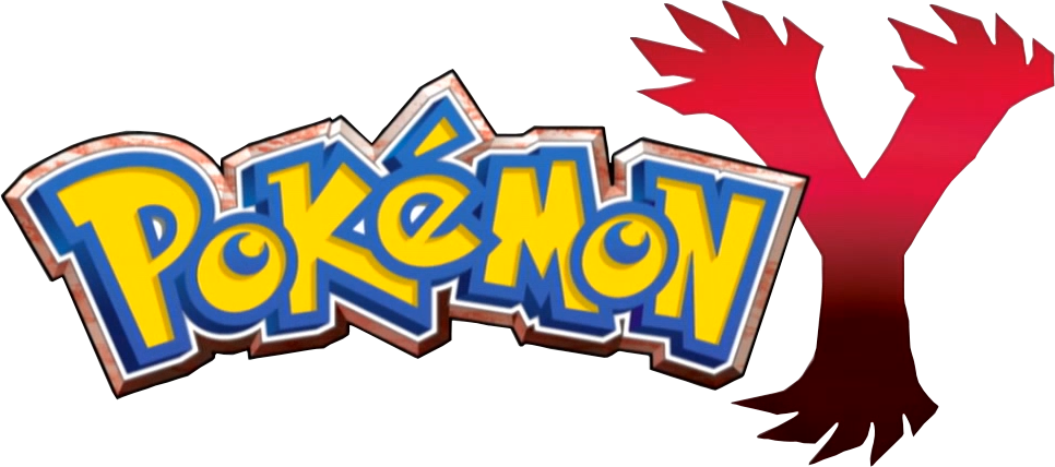 Large Pokemon Y Logo